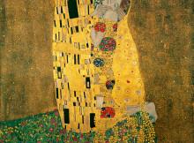 Густав Климт, «Поцелуй» (1907-1908)
