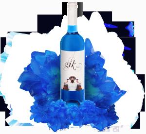 В Испании изобрели синее вино